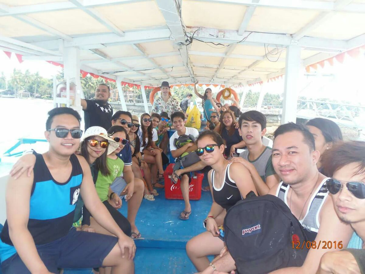 The Davao team in Samal