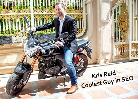Kris Reid the Coolest Guy in SEO