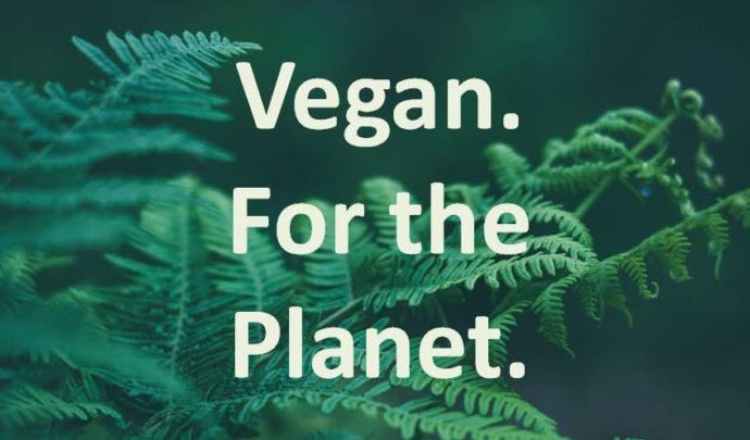 Go vegan for the planet