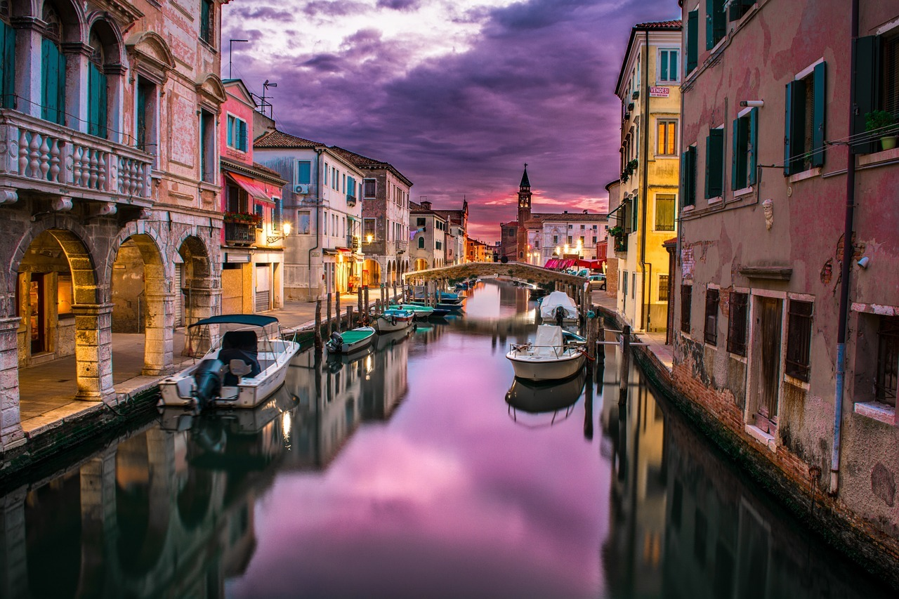 canal in italy