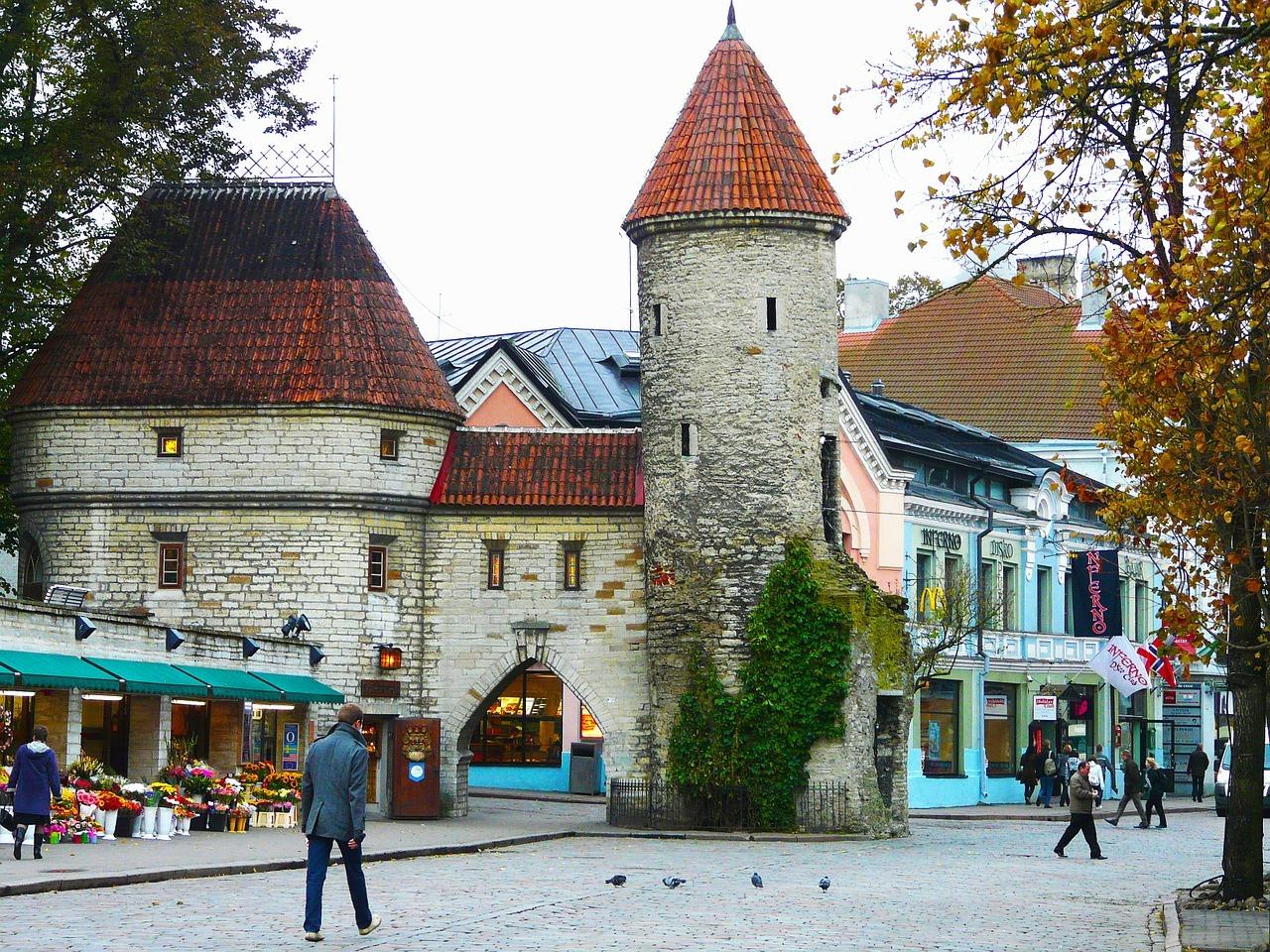 old town in estonia