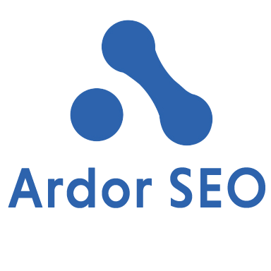 Ardor SEO new logo on transparent background